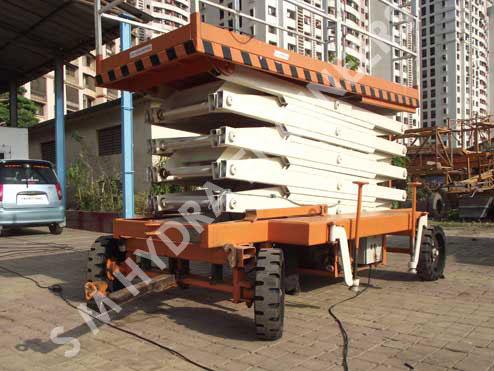 Hydraulic Customised Scissor Lift, Multi Stage Jacks